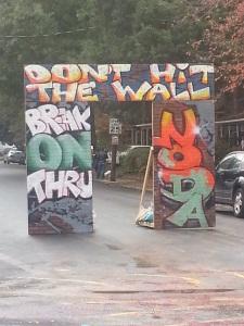 NoDa Wall